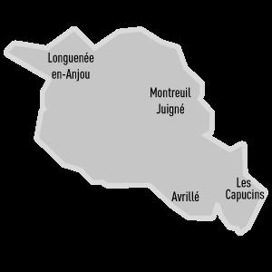 Carte du canton Angers-4