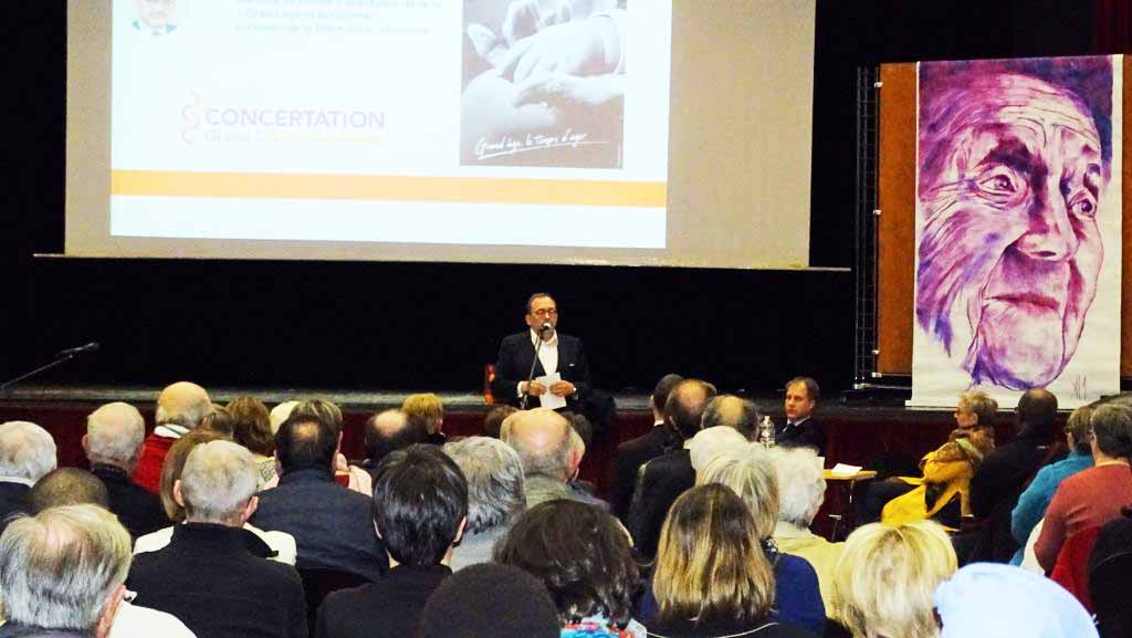 Soirée débat avec Luc Broussy portant sur le thème de : l'autonomie et le vieillissement