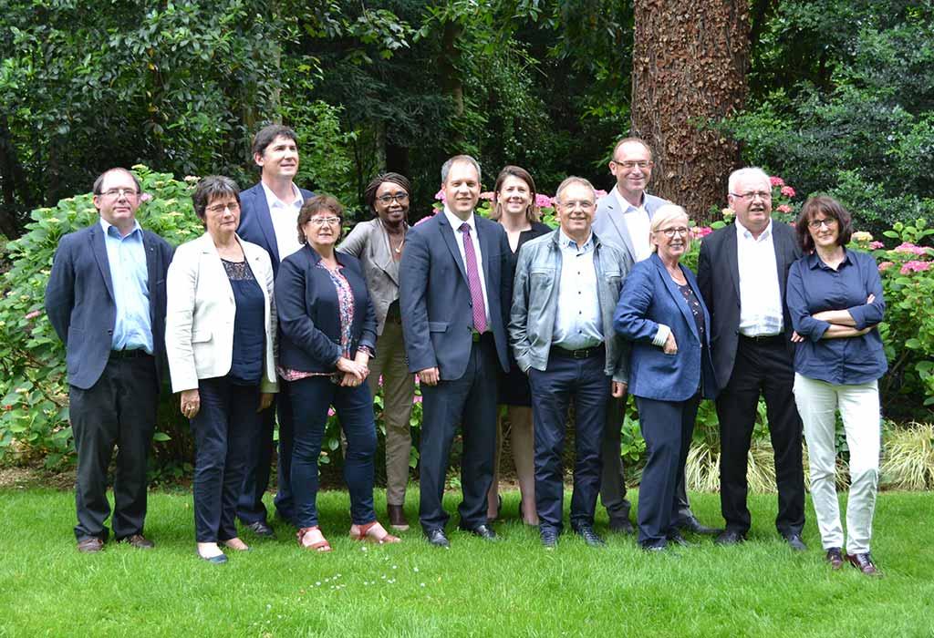 À propos - Les élus du groupe L'Anjou en action au conseil départemental